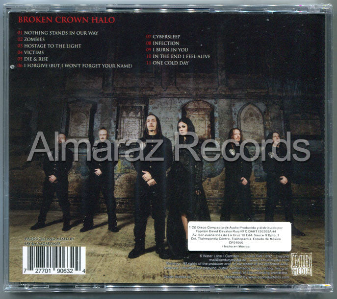 Lacuna Coil Broken Crown Halo CD - Almaraz Records | Tienda de Discos y Películas  - 2