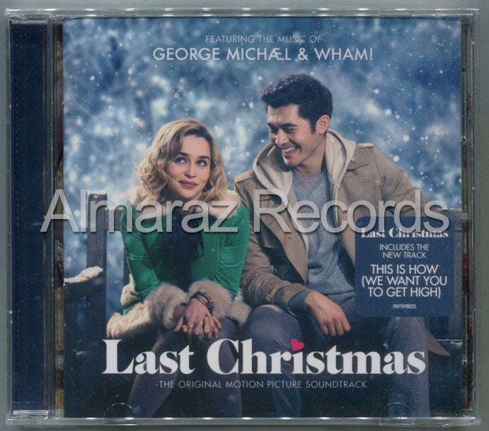 George Michael & Wham! Last Christmas CD