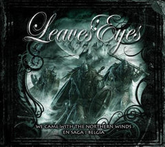 Leaves' Eyes We Came With The Nothern Winds En Saga I Belgica CD+DVD - Almaraz Records | Tienda de Discos y Películas