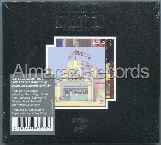 Led Zeppelin The Song Remains The Same 2CD