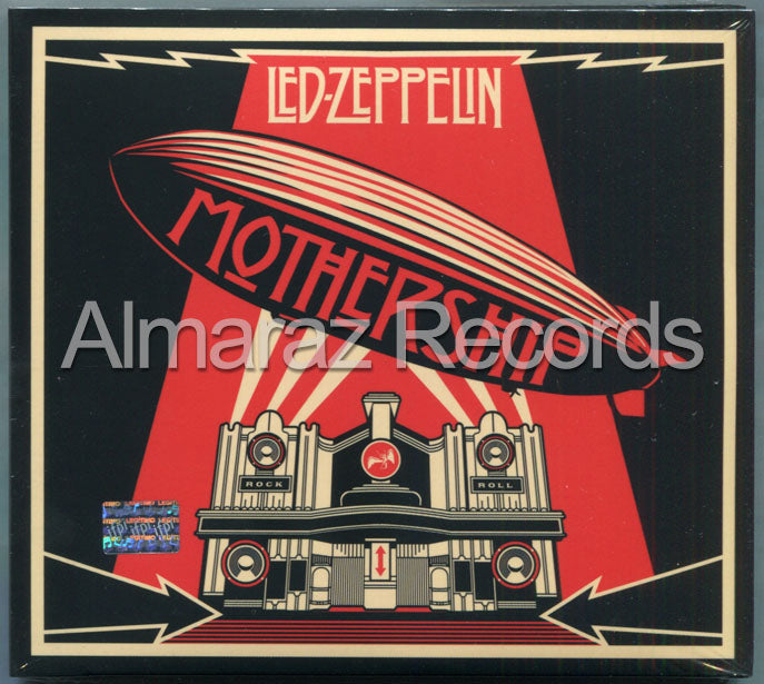Led Zeppelin Mothership Remastered 2CD