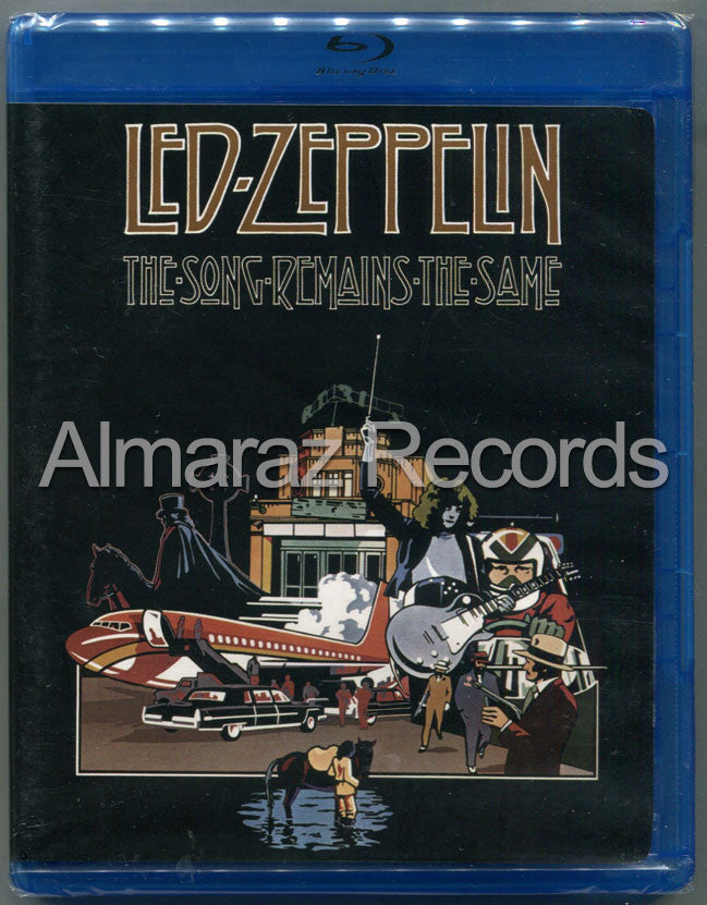Led Zeppelin The Song Remains The Same Blu-Ray [Import]