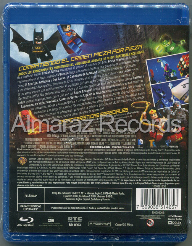 Lego Batman Blu-Ray - Lego Batman The Movie - Almaraz Records | Tienda de Discos y Películas  - 2