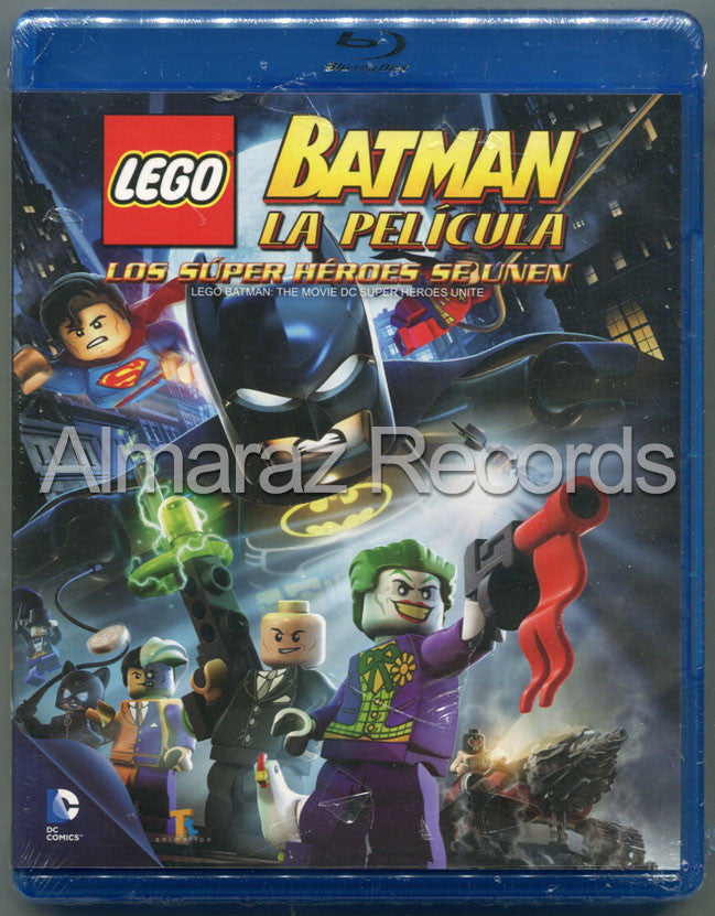 Lego Batman Blu-Ray - Lego Batman The Movie - Almaraz Records | Tienda de Discos y Películas  - 1