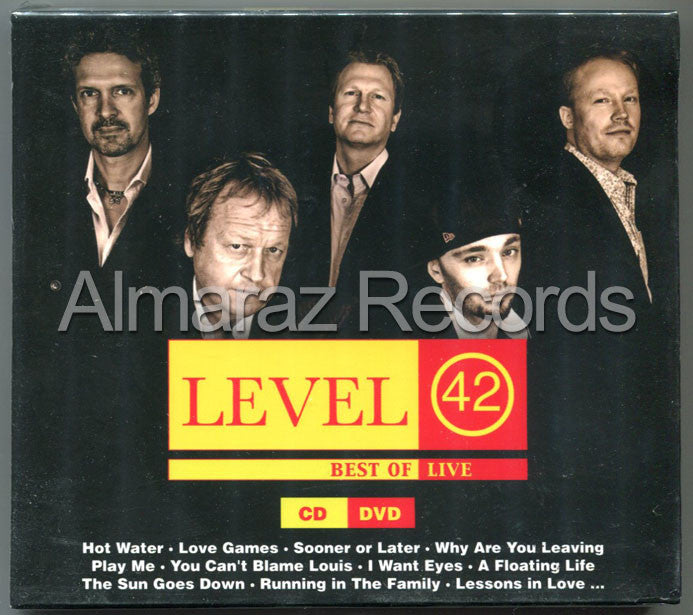 Level 42 Best Of Live CD+DVD - Almaraz Records | Tienda de Discos y Películas  - 1