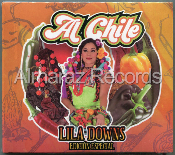 Lila Downs Al Chile Edicion Especial CD+DVD
