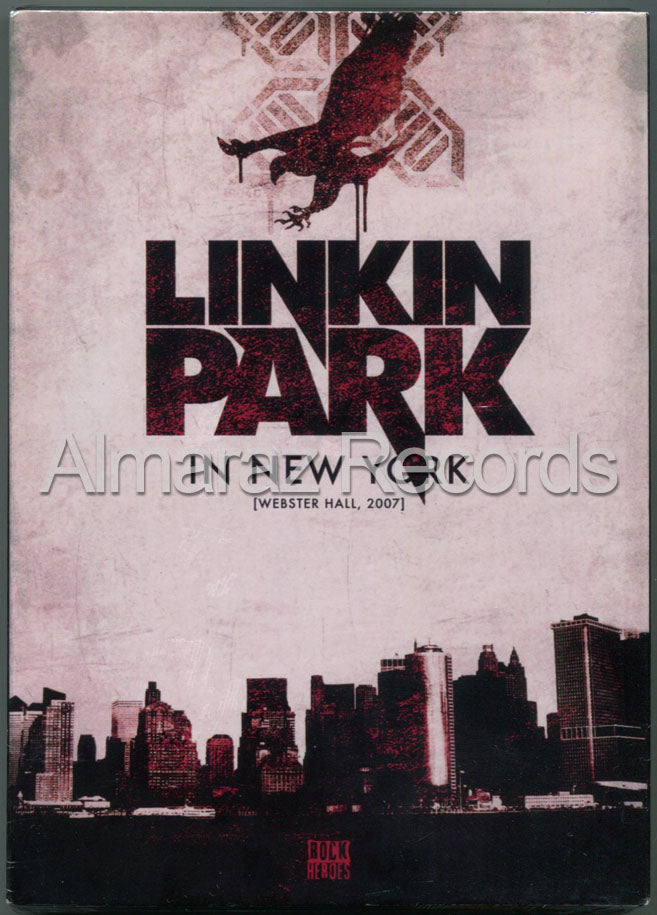 Linkin Park Live In New York Webster Hall 2007 DVD