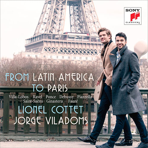 Lionel Cottet From Latin America To Paris CD