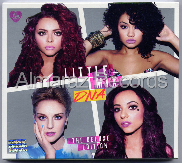 Little Mix DNA The Deluxe CD+DVD - Almaraz Records | Tienda de Discos y Películas  - 1