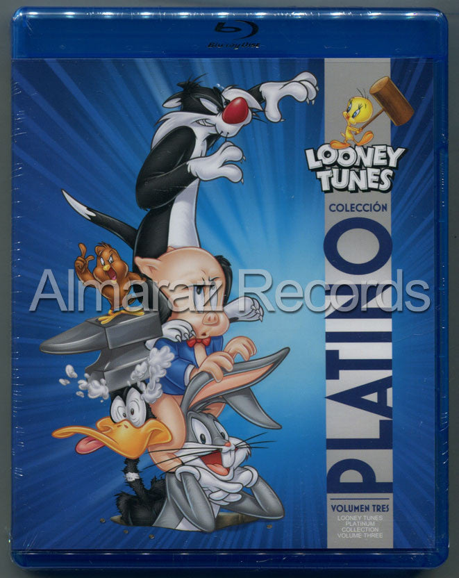 Looney Tunes Coleccion Platino Vol. 3 Blu-Ray - Looney Tunes Platinum Collection Vol. 3 - Almaraz Records | Tienda de Discos y Películas  - 1