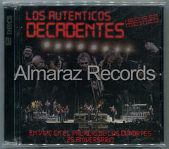 Los Autenticos Decadentes Hecho En Mexico CD+DVD
