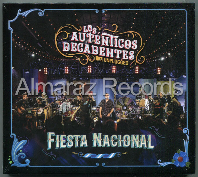 Los Autenticos Decadentes MTV Unplugged Fiesta Nacional CD+DVD