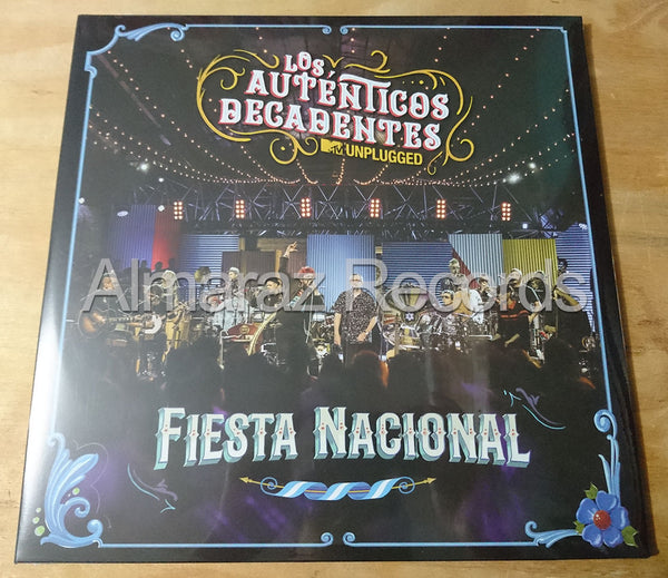 Los Autenticos Decadentes MTV Unplugged Vinyl LP