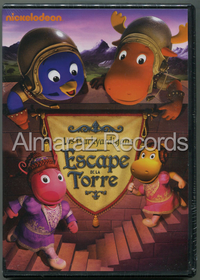 Backyardigans Escape De La Torre DVD - Escape From The Tower - Almaraz Records | Tienda de Discos y Películas  - 1