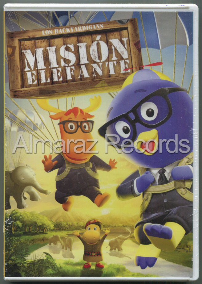 Backyardigans Mision Elefante DVD - Operation Elephant