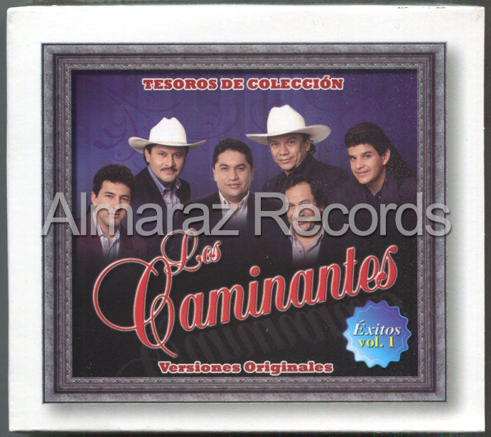 Los Caminantes Tesoros De Coleccion Exitos Vol. 1 3CD