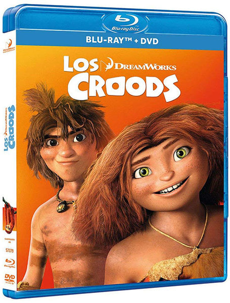 Los Croods Blu-Ray+DVD