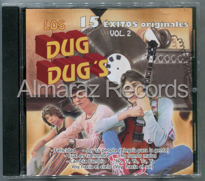 Los Dug Dug's 15 Exitos Vol. 2 CD (Usado)