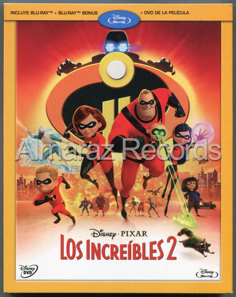 Los Increibles 2 Blu-Ray+DVD