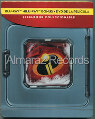 Los Increibles 2 Steelbook Blu-Ray+DVD