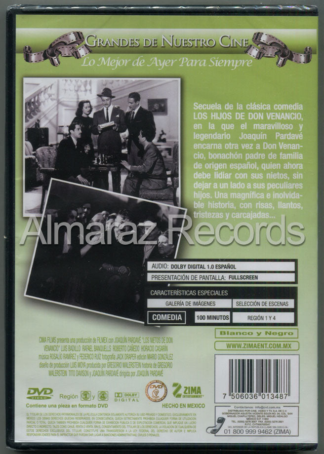Los Nietos De Don Venancio DVD