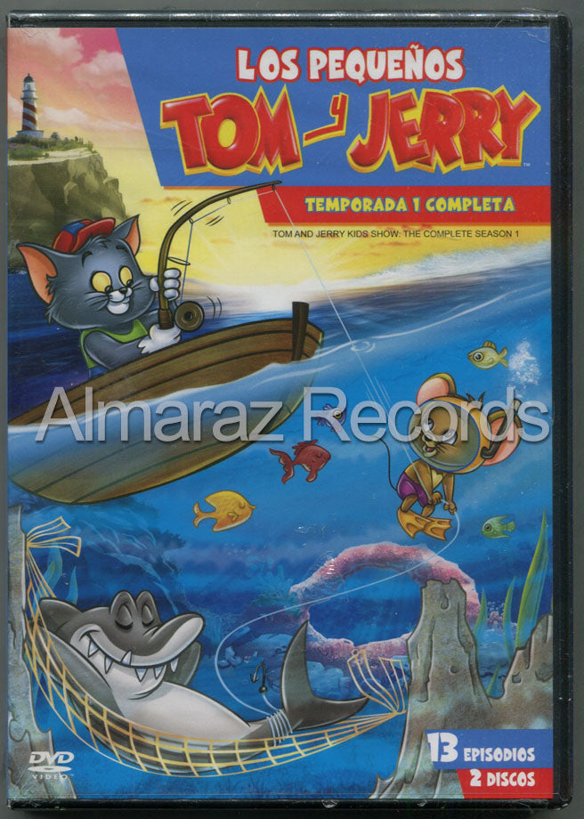 Los Pequeños Tom Y Jerry Temporada 1 2DVD - Tom & Jerry Kids Season 1