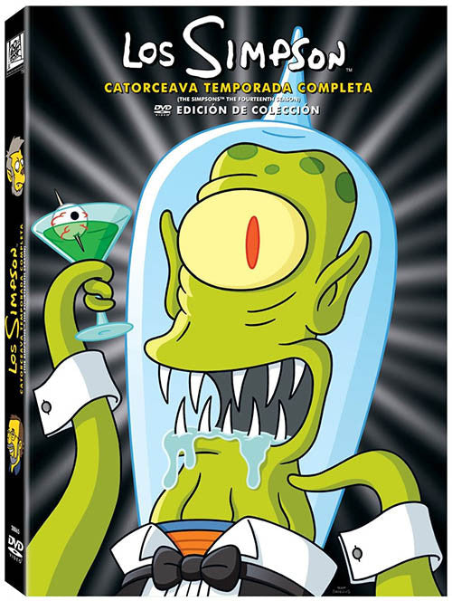 Los Simpson Temporada 14 4DVD - The Simpson Season 14 - Almaraz Records | Tienda de Discos y Películas