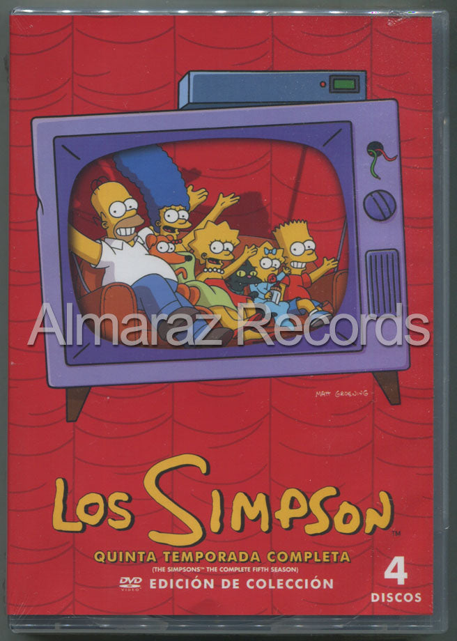 Los Simpson Temporada 5 4DVD - The Simpsons Season 5