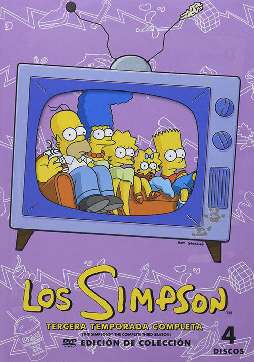 Los Simpson Temporada 3 4DVD - The Simpson Season 3 - Almaraz Records | Tienda de Discos y Películas