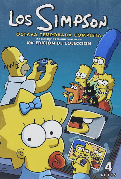 Los Simpson Temporada 8 4DVD - The Simpson Season 8 - Almaraz Records | Tienda de Discos y Películas