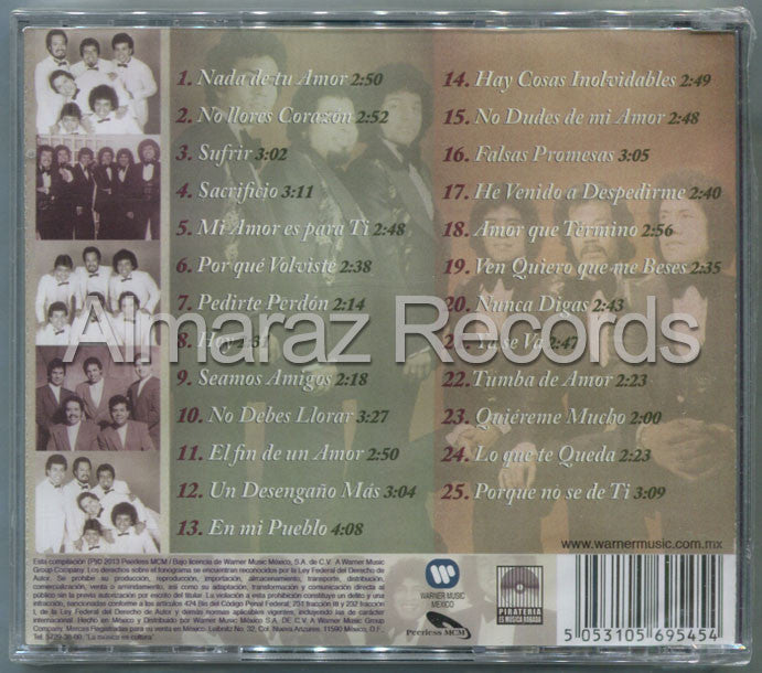 Los Solitarios 25 Exitos CD