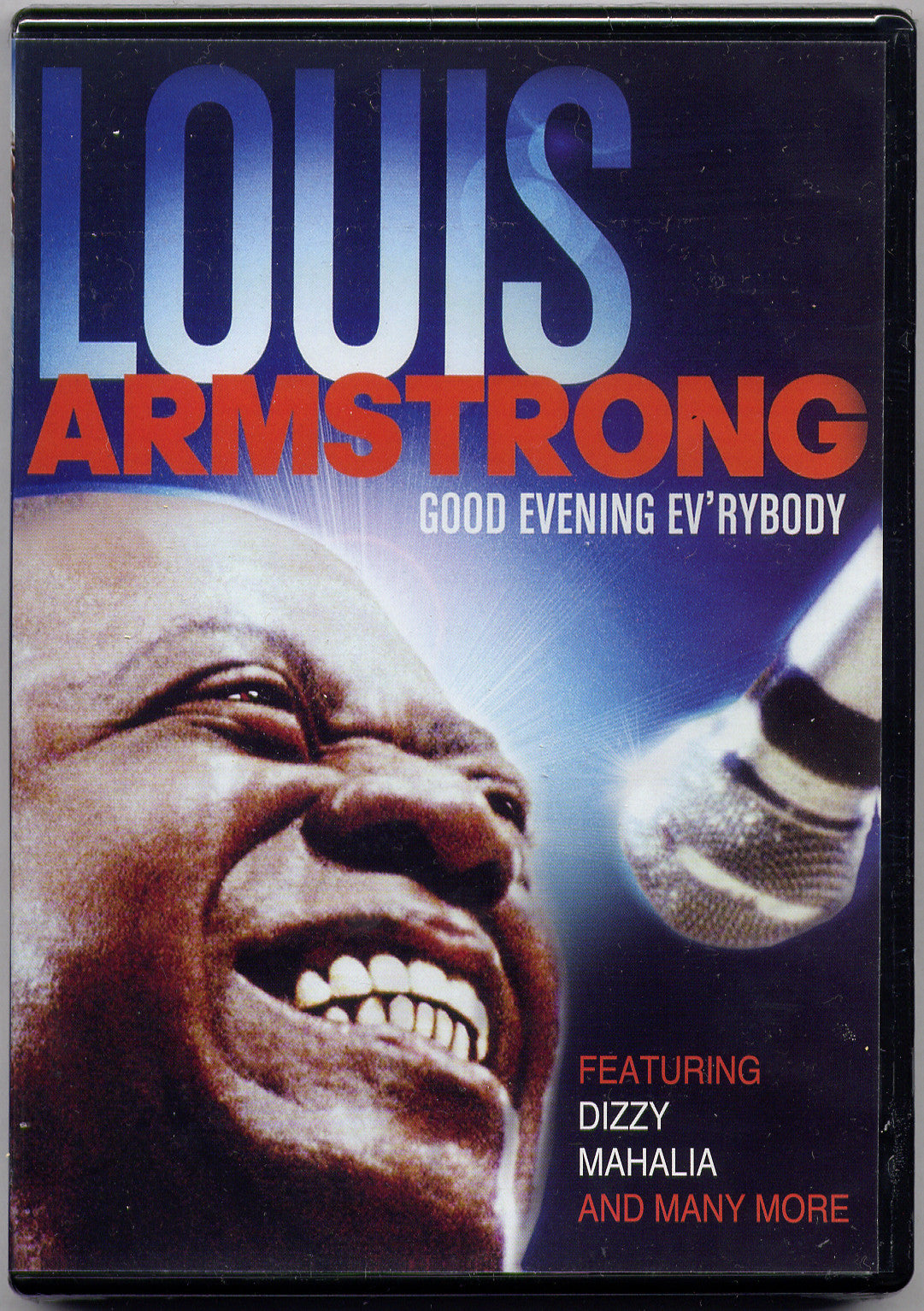 Louis Armstrong Good Evening Ever'body DVD - New Port Jazz Festival - Almaraz Records | Tienda de Discos y Películas  - 1