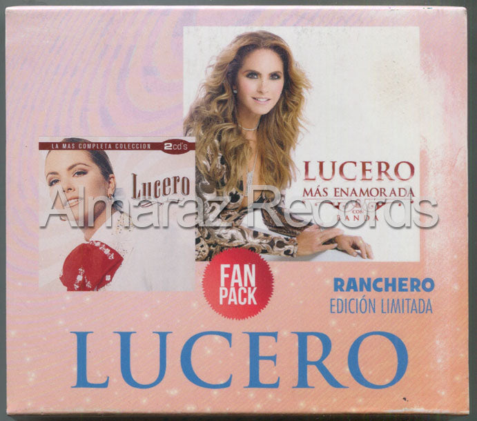 Lucero Fan Pack Ranchero 3CD+DVD