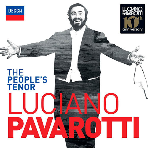 Luciano Pavarotti The People's Tenor 2CD
