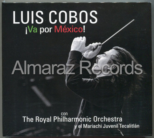 Luis Cobos Va Por Mexico CD+DVD