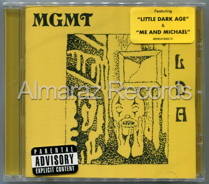MGMT Little Dark Age CD