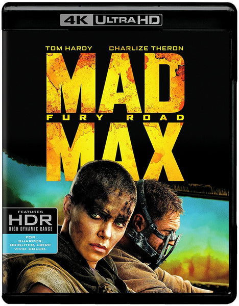 Mad Max Furia En El Camino Blu-Ray 4K Ultra HD + Blu-Ray