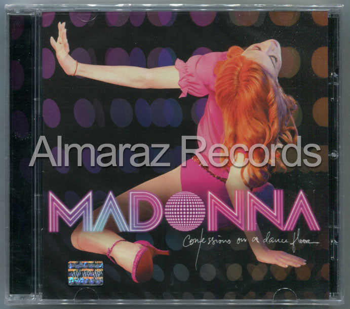 Madonna Confessions On A Dance Floor CD - Almaraz Records | Tienda de Discos y Películas  - 1