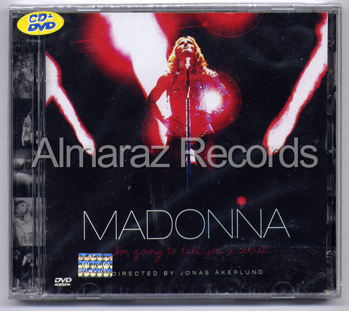 Madonna I'm Going To Tell You A Secret CD+DVD - Almaraz Records | Tienda de Discos y Películas  - 1