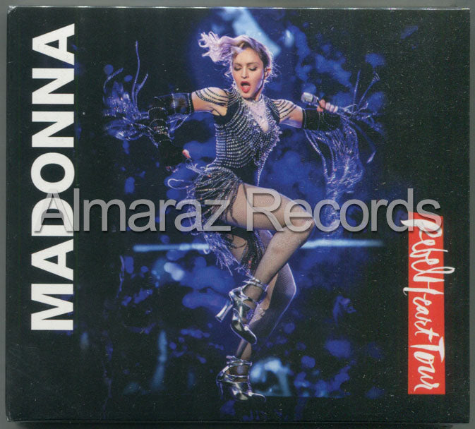 Madonna Rebel Heart Tour CD+DVD