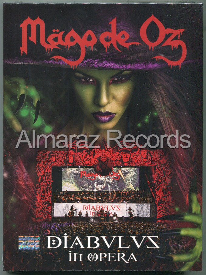Mago De Oz Diabvlvs In Opera 2CD+DVD - Diabulus