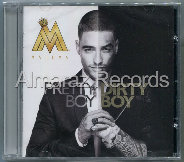 Maluma Pretty Boy Dirty Boy CD - Almaraz Records | Tienda de Discos y Películas  - 1