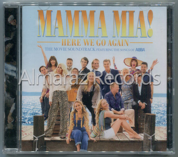 Mamma Mia! Here We Go Again CD