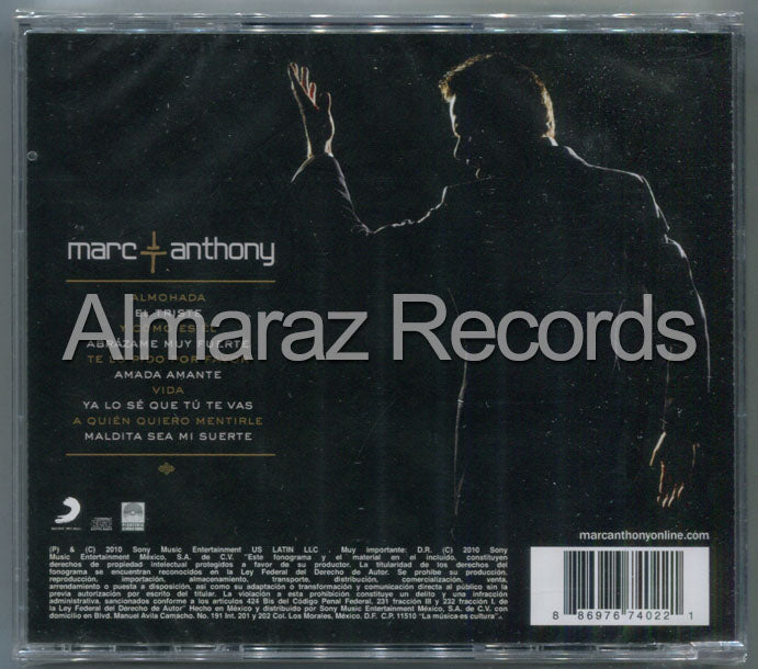 Marc Anthony Iconos CD