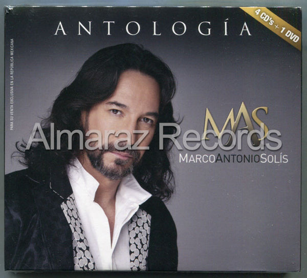 Marco Antonio Solis Antologia 4CD+DVD