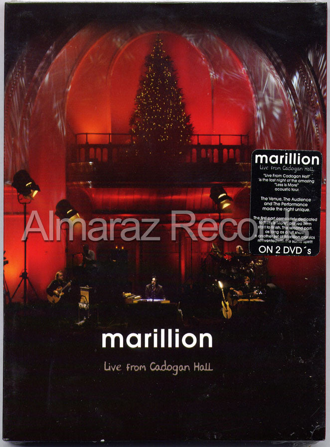 Marillion Live From Cadogan Hall 2DVD - Almaraz Records | Tienda de Discos y Películas  - 1
