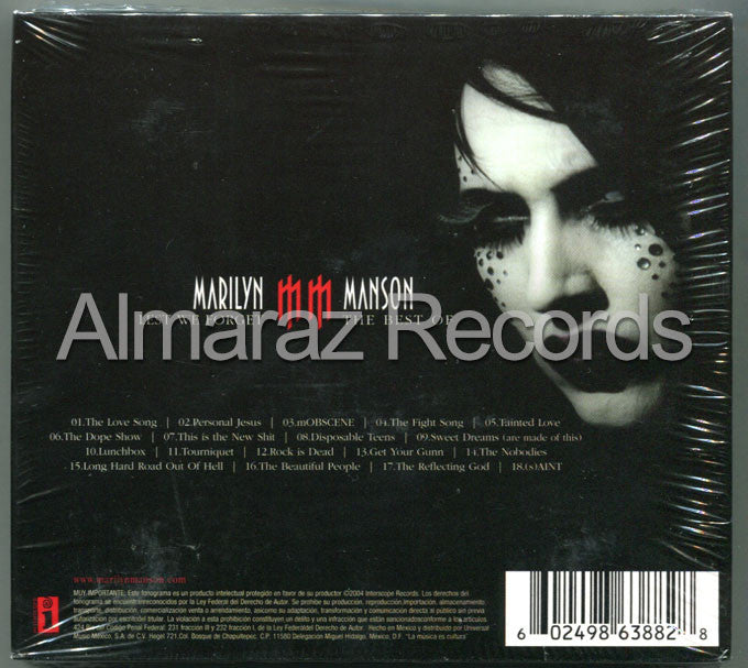 Marilyn Manson Lest We Forget The Best Of CD+DVD - Almaraz Records | Tienda de Discos y Películas  - 2