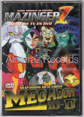 Mazinger Z Megabox DVD