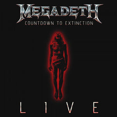 Megadeth Countdown To Extinction Live DVD+CD [Import] - Almaraz Records | Tienda de Discos y Películas
