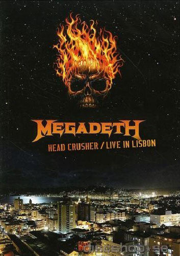 Megadeth Head Crusher Live In Lisbon DVD [Import] - Almaraz Records | Tienda de Discos y Películas